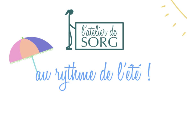 L'atelier de SORG rencontre l'été !