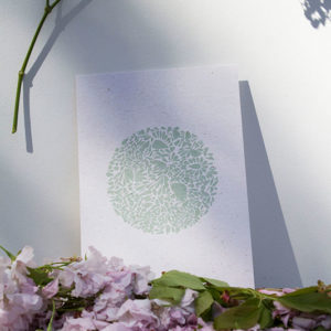 A5-papierivoire-constellationdepetalesenrond-vert
