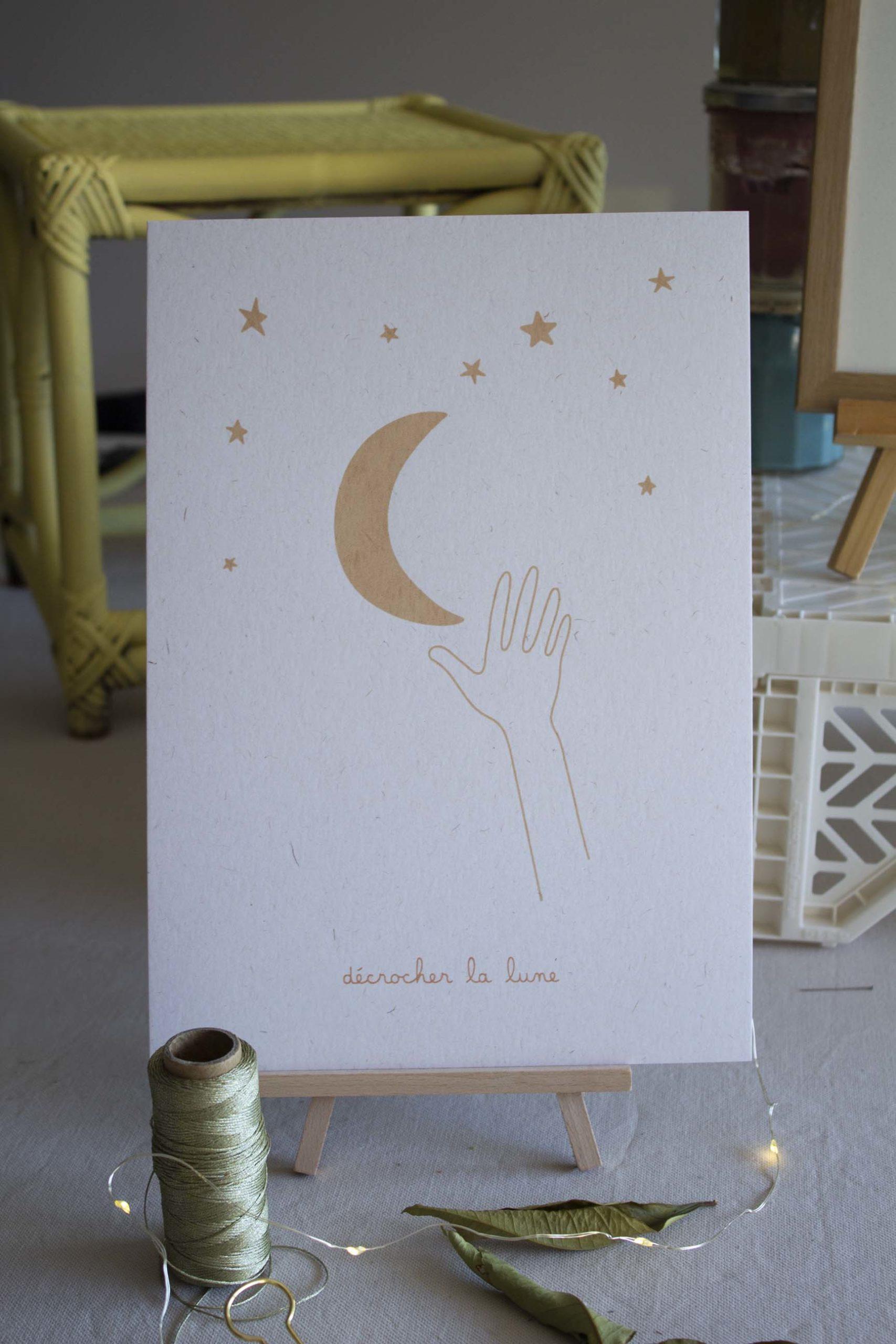 serigraphie-a4-papier-decrocherlalune-beige
